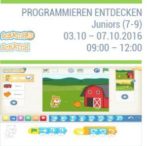Programmieren entdecken für Kinder