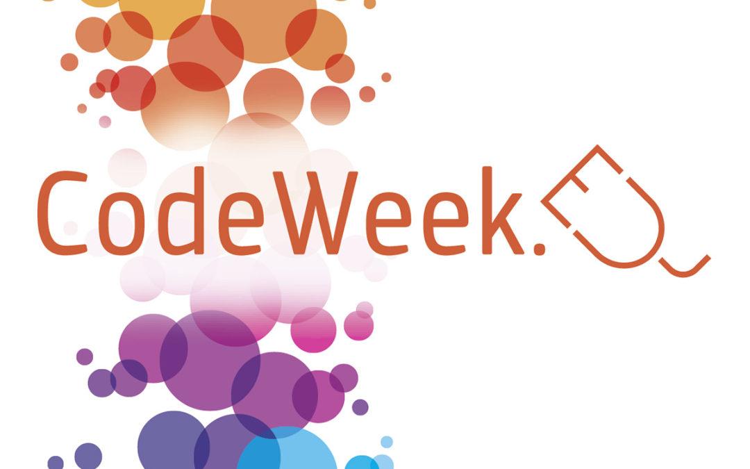 EU Code Week – Let's play with code and robotics!