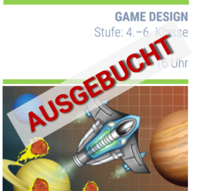 Ausgebucht – gamedesign