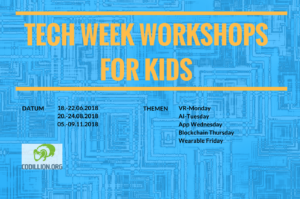 TECH WEEK WORKSHOPSFOR KIDS